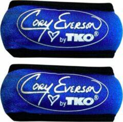 Cory Everson by TKO - Polsgewichten - 2 x 0,5 kg - Blauw