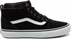 Zwarte Vans Ward Hi MTE Heren Sneakers - Black/Plaid - Maat 42.5