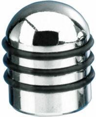 Universeel Foliatec AirCaps ventieldoppenset Aluminium - 4 stuks - 3 rubberen ringen