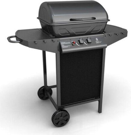 Afbeelding van Zilveren VidaXL Oregon Gasbarbecue - 2 branders