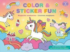 Deltas Boek Color & Sticker Fun Magische Eenhoorns (vanaf 3 jaar)