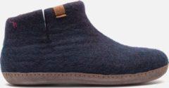 Tofvel Pantoffels blauw - Maat 37