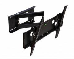 Zwarte WOLFF MOUNT TV muurbeugel voor schermen tot 50 inch (1 meter van de wand)