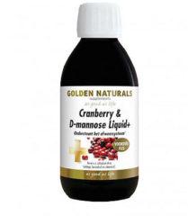 Golden Naturals Cranberry & D-mannose Liquid (500 milliliter)
