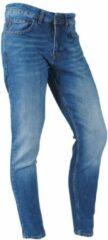 Blauwe Catch - Heren Jeans - White Wash - Stretch - Lengte 32 - Denim