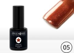 Awesome #05 Brons Gelpolish - Gellak - Gel nagellak - UV & LED