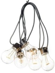 Konstsmide 2378-800 Party-lichtketting Buiten Energielabel: A (A++ - E) werkt op het lichtnet 10 + 80 Gloeilamp, LED Bont Verlichte lengte: 4.5 m