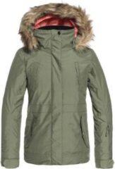 Groene Roxy ski jas - Tribe - meisjes - snjt - 12