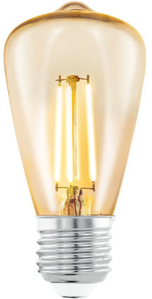 Afbeelding van EGLO led-lamp vintage look E27 ST48 amberkleurig 11553