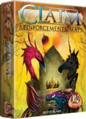 Gele White Goblin Games uitbreiding Claim Reinforcements: Maps (NL)