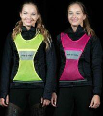 Roze Bee Seen - Reflectie vest - Hardloopvest - Jogging reflectie vest - Hardloop vest - Rose - maat S-M