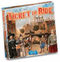 Days of Wonder bordspel Ticket to Ride Amsterdam karton 154-delig