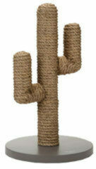 Bruine Designed by Lotte Houten Cactus - Krabpaal - Taupe - 35 x 35 x 60 cm