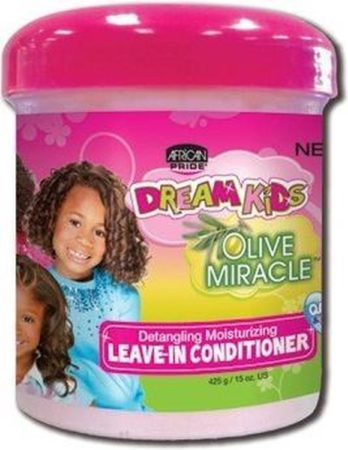 Afbeelding van African Pride Dream Kids Olive Miracle Detangling Moisturizing Leave-In Conditioner 425g/15 oz
