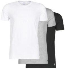 """T-shirt Korte Mouw Polo Ralph Lauren WHITE/BLACK/ANDOVER HTHR pack de """""""