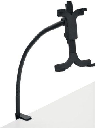 Afbeelding van Desq tablet standaard met bureauklem, zwart