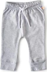 Little Label - baby - broekje - grijs - maat 74 - bio-katoen