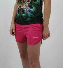 Roze Bones Sportswear Dames Short Pink maat S