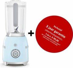 Smeg - BLF01PBEU MkIII - Blender - Pastelblauw - met drie jaar garantie!