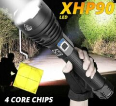 Zwarte Alight (outdoor4you) XHP 90.2 PROFESSIONAL-X ZAKLAMP 26000 lumen 5000 het krachtigste en meest geavanceerde oplaadbare USB zoeklicht van dit moment van Alight