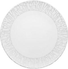 Zilveren ROSENTHAL STUDIO LINE Rosenthal TAC Gropius Skin Platinum - Bord - � 28 cm