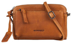 Bruine Burkely Antique Avery Mini Bag Schoudertas Cognac 871856