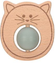 Groene Lässig Bijtring Little chums cat