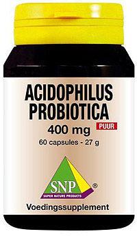 Afbeelding van SNP Acidophilus probiotica 400 mg puur 60 Capsules