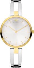 Gouden Danish Design watches edelstalen dameshorloge Rachel Two-Tone IV76Q1208