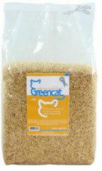 Groene Greencat Vegetal Clumping - 8 liter