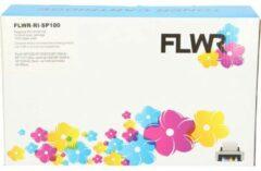 FLWR - Toner / 406166 / Zwart - Geschikt voor Ricoh