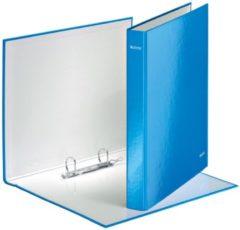 Ringband Leitz WOW A4 2-rings D-mech 25mm karton blauw