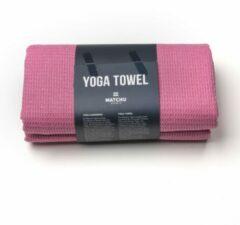 Roze Matchu Sports - Yoga handdoek - 183 x 61 cm - Elegant Pink