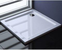 Witte ADW Design Douchebak Dona Laag Model 90X90X4Cm
