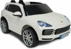 Injusa Accuvoertuig Porsche Cayenne S Junior 12v 134 Cm Wit
