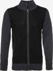 Unsigned gebreid heren vest - Zwart - Maat XL
