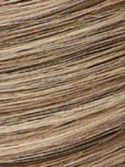 Perücke Frieda Lofty Dunkelaschblond/Lichtblond gesträhnt