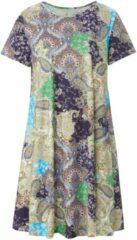Green Cotton Jerseyjurk 100% katoen paisley-print Van groen Cotton beige