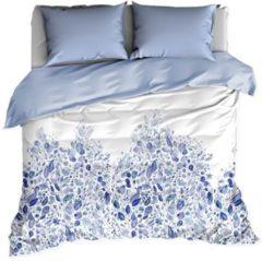 Blauwe De Witte Lietaer Twirl - Dekbedovertrek - Eenpersoons - 140x200/220 cm + 1 kussensloop 60x70 cm - Kentucky Blue
