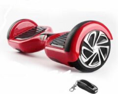 The Scootershop HOVERBOARD, TAOTAO, 700W, ROOD, SAMSUNG 20cell accu, incl Afstandbediening & LED