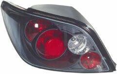 Set Achterlichten Peugeot 307 Excl. Break/SW - Zwart