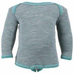 Grijze Engel - Baby Body L/S - Merino ondergoed maat 62 / 68 grijs
