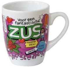 123 Kado koffiemokken Cartoonmok Zus