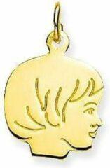 Gold Collection Geelgouden kinderkopje Meisje - 13.5 x 13.5 mm 241.0069.01
