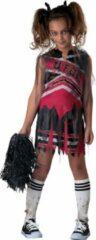 Zwarte Character Zombie cheerleader kostuum voor meisjes Halloween - Verkleedkleding - 122/128