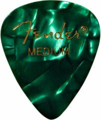 Fender 351 Premium Pick Pack groen Moto Medium (12 plectrums)