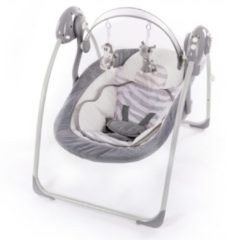Grijze Bo Jungle B-Portable Babyswing - Babyschommel White Tiger