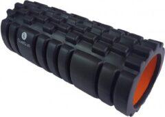 Sveltus Foamroller Met Grid Zwart/oranje 33 X 14 Cm