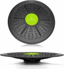 #DoYourFitness - Balance Board - »Circulum« - Evenwichtsbord - Belastbaarheid tot ca. 120kg. Ø 36 cm - zwart;groen