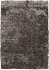 Diamond Soft Fluweel Vloerkleed Bruin Hoogpolig - 80x150 CM